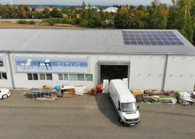Hybridní FVE 9,9 kWp 19,2 kWh