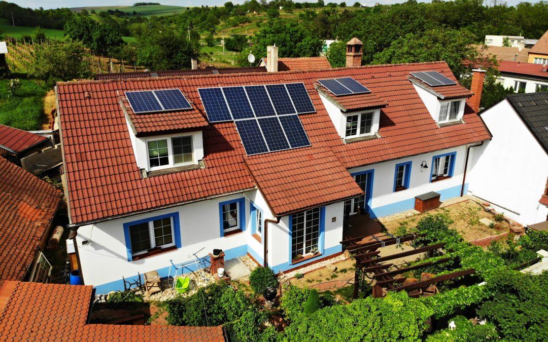Hybridní FVE 3,78 kWp 6,5 kWh