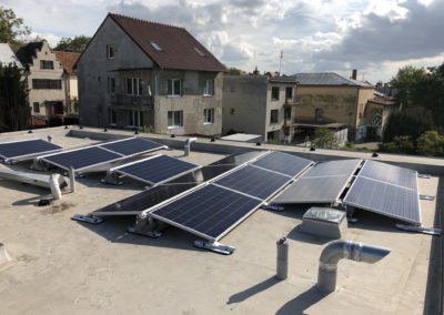 Hybridní FVE 5,94 kWp 7,7 kWh