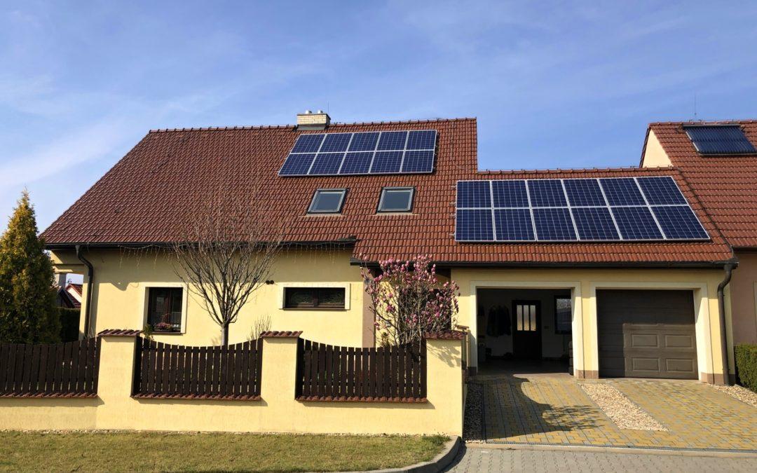 Hybridní FVE 6,05 kWp 9,0 kWh