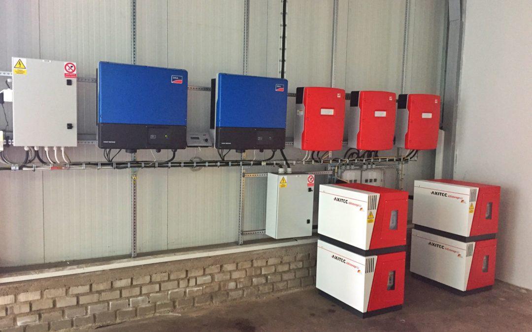Hybridní FVE 30 kWp 42 kWh